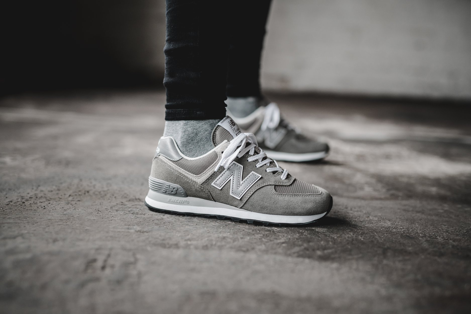 New Balance 574 Grey Day Right
