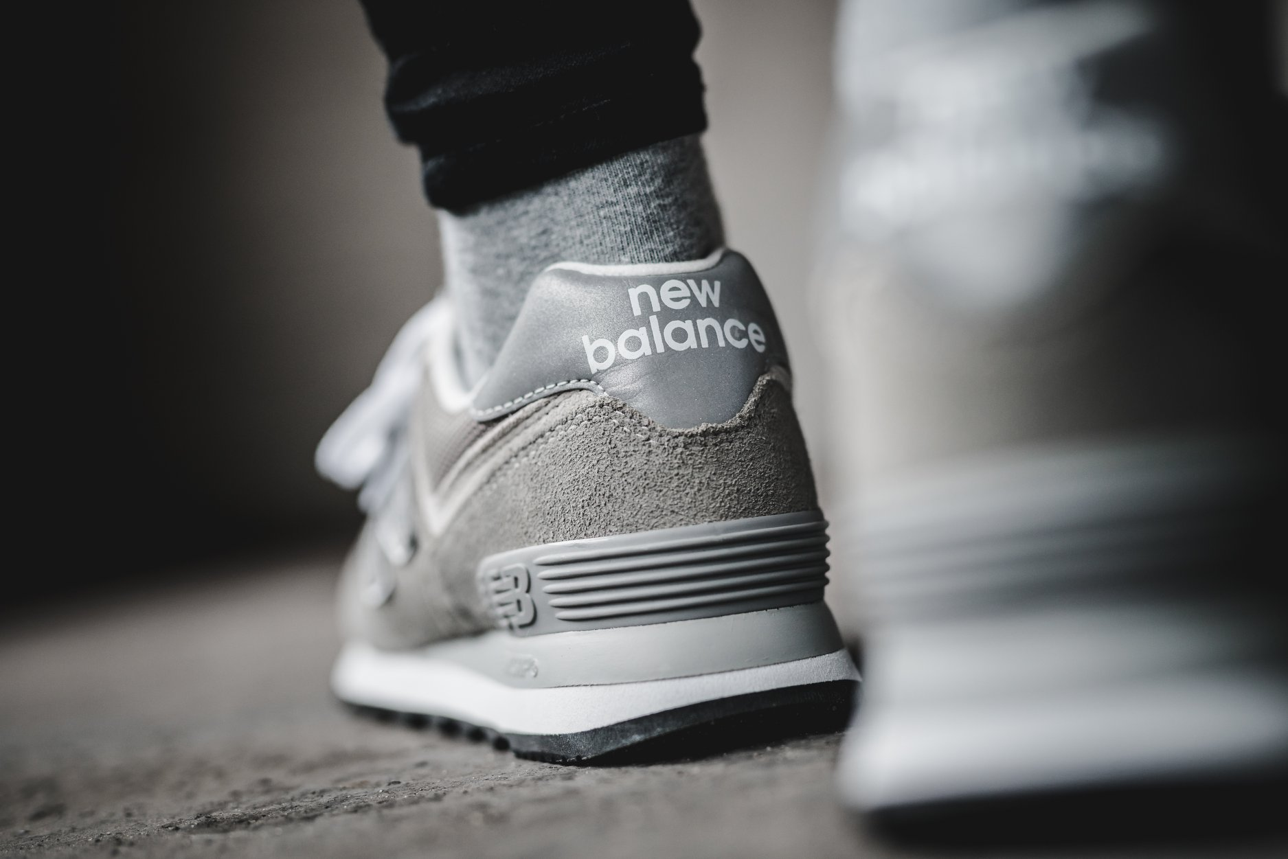 New Balance 574 Grey Day Back