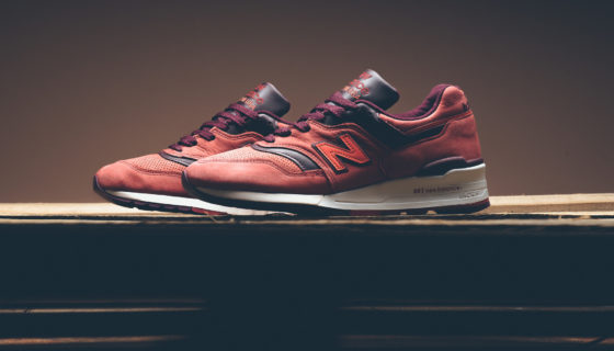 New Balance 997 Red Clay Fall 2016