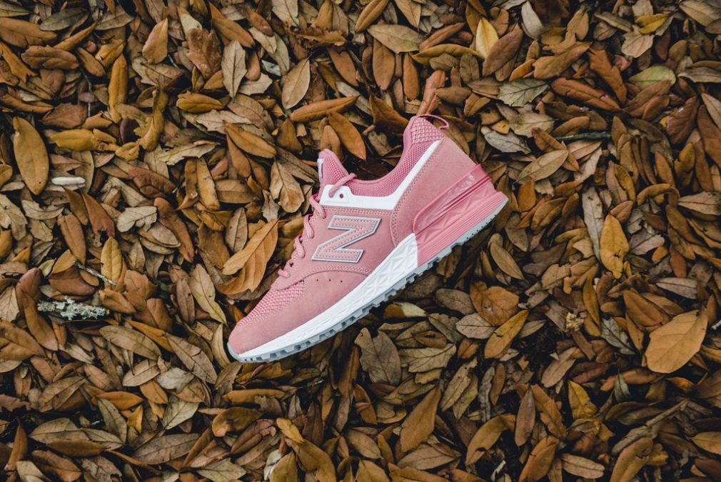 New Balance MS 574 STP Pink White