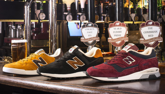 New Balance Made In UK 'Real Ale' Collection