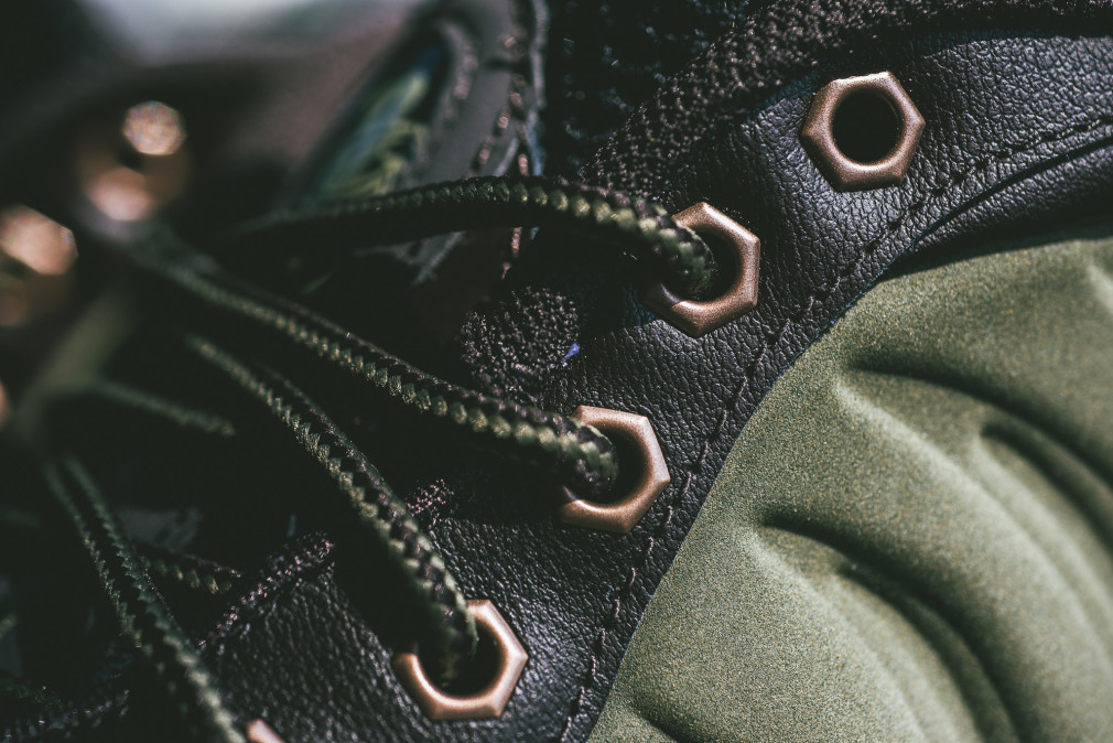Nike Air FoampositeOne PRM Olive Velvet Brown