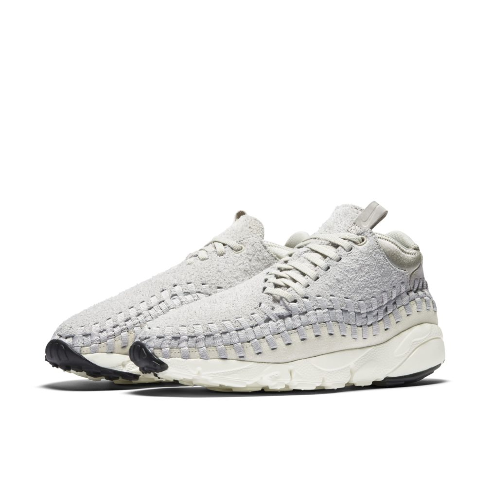 Nike Air Footscape Woven Chukka Light Bone
