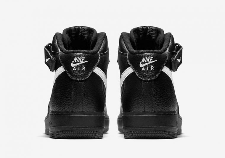 Nike Air Force 1 High Black Leather