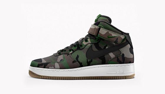Nike Air Force 1 iD – Nouveau Programme