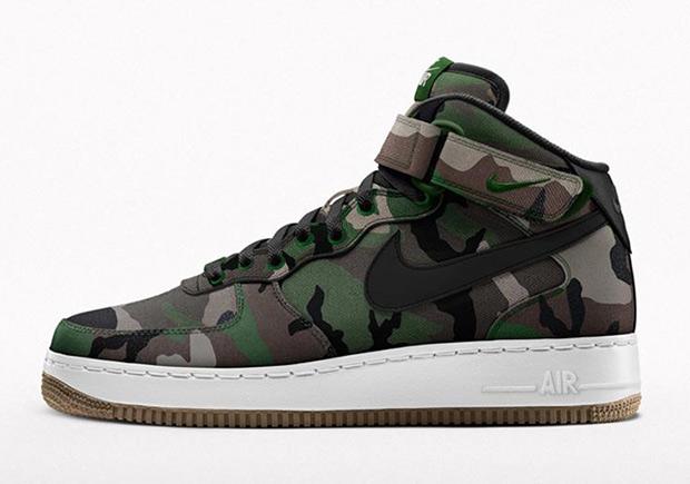 Nike Air Force 1 iD - Nouveau Programme