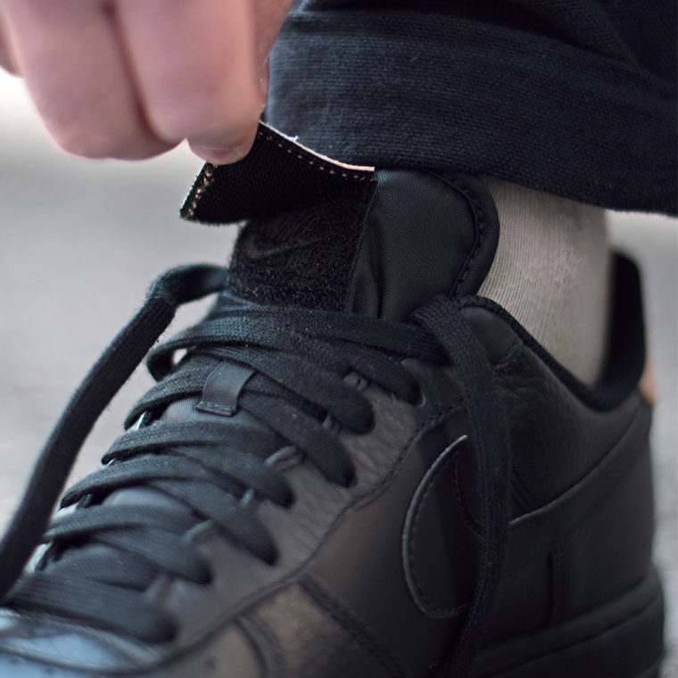 Nike Air Force 1 LV8 Black Vachetta Tan