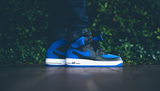 Nike Air Force 1 Mid '07 'Royal Blue'