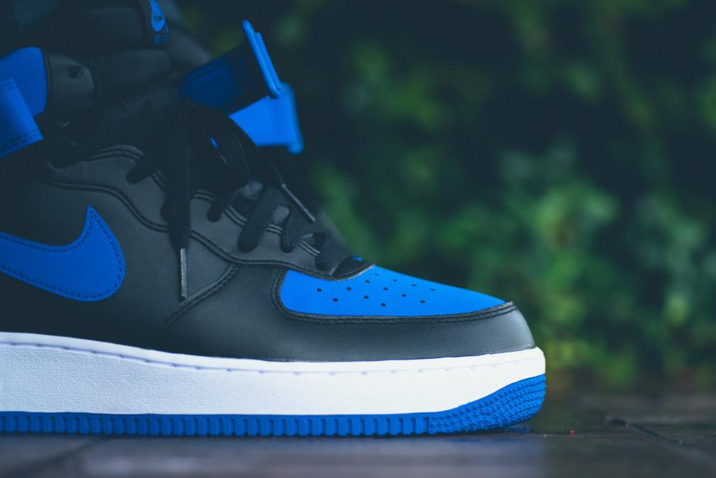 Nike Air Force 1 Mid '07 - Black/Royal