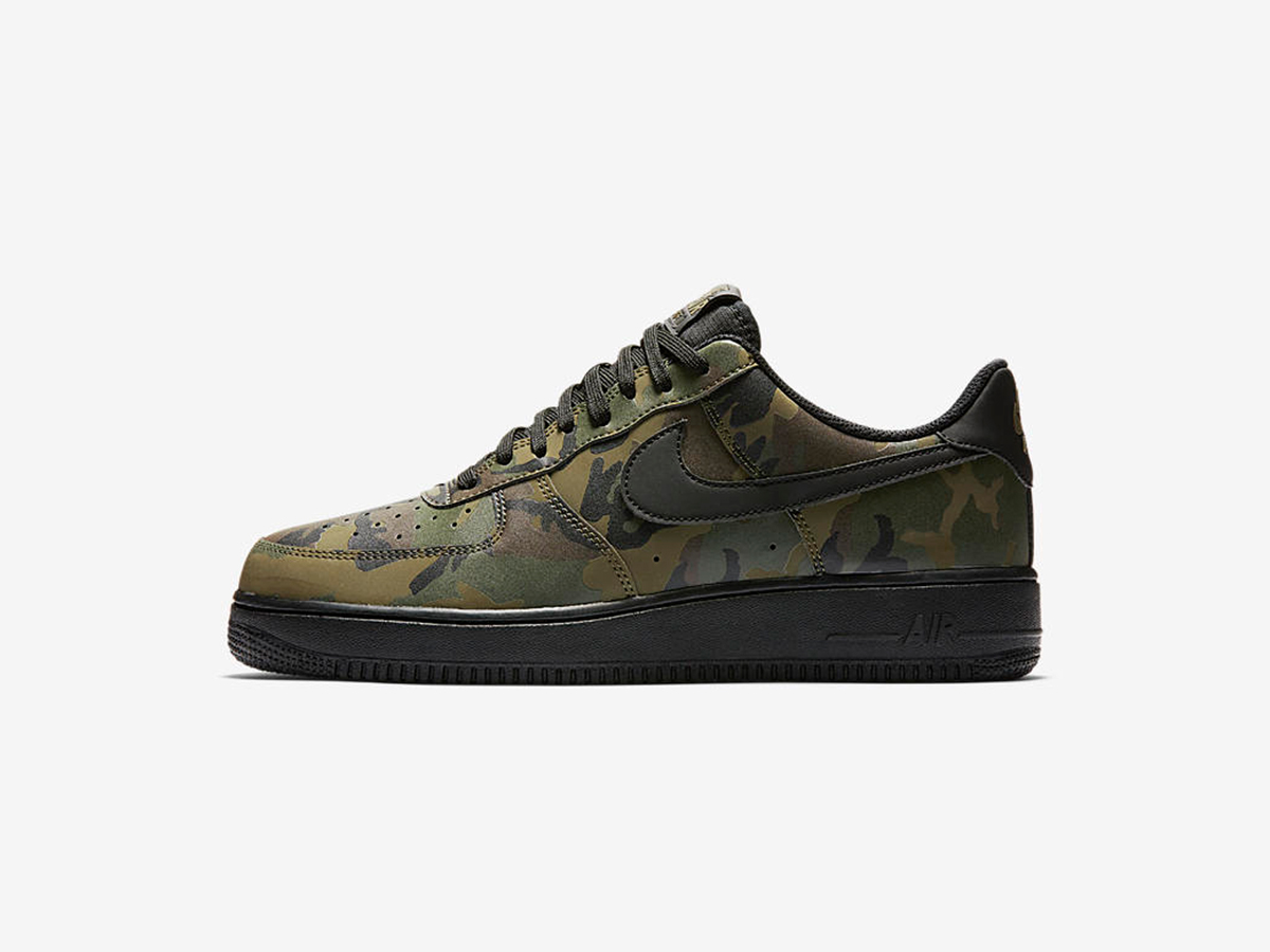 nike air force 1 camo reflective sneakers addict. Black Bedroom Furniture Sets. Home Design Ideas