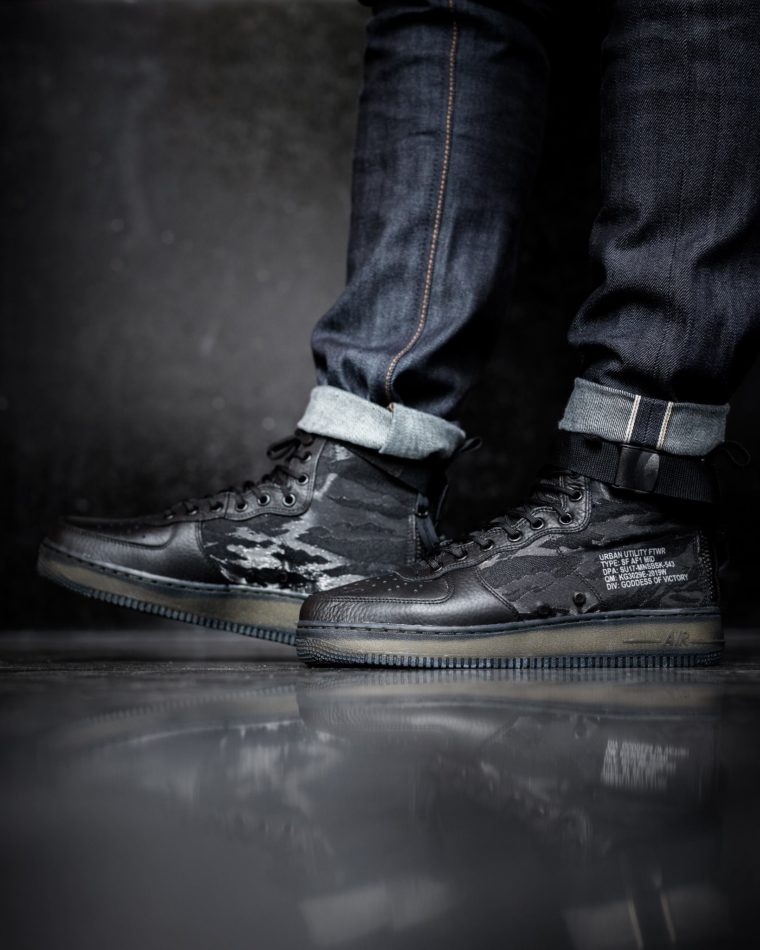 Nike Air Force 1 SF Black Cargo