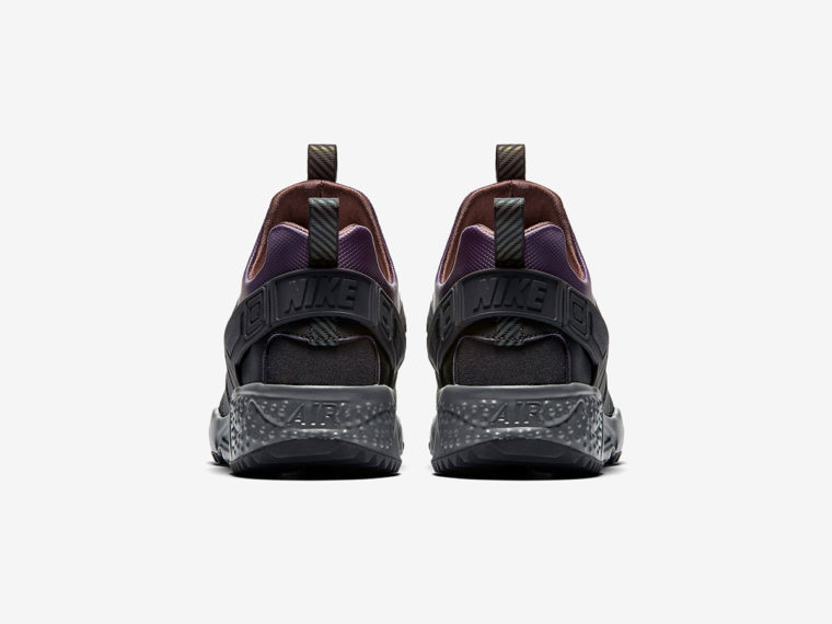 Nike Air Huarache Utility Purple Black