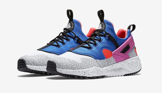 """Nike Air Huarache Utility """"Violet-Varsity Royal"""""""