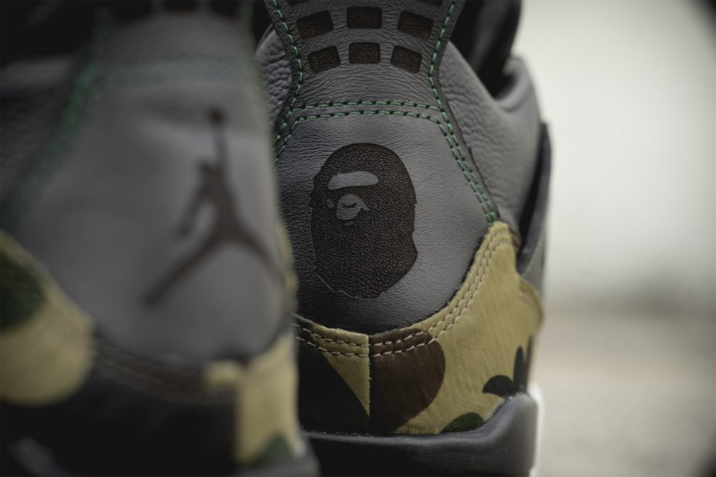 Nike Air Jordan 4 x Bape Gortex By BespokeIND