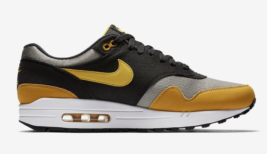 Nike Air Max 1 Black Yellow : Preview