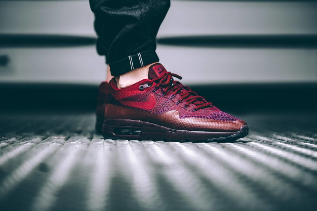 nike air max 1 ultra flyknit team red 856958-566