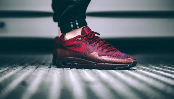 Nike Air Max 1 Ultra Flyknit Team Red