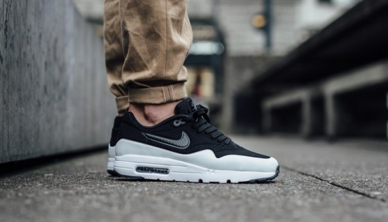 Nike Air Max 1 Ultra Moire Black White Smoke