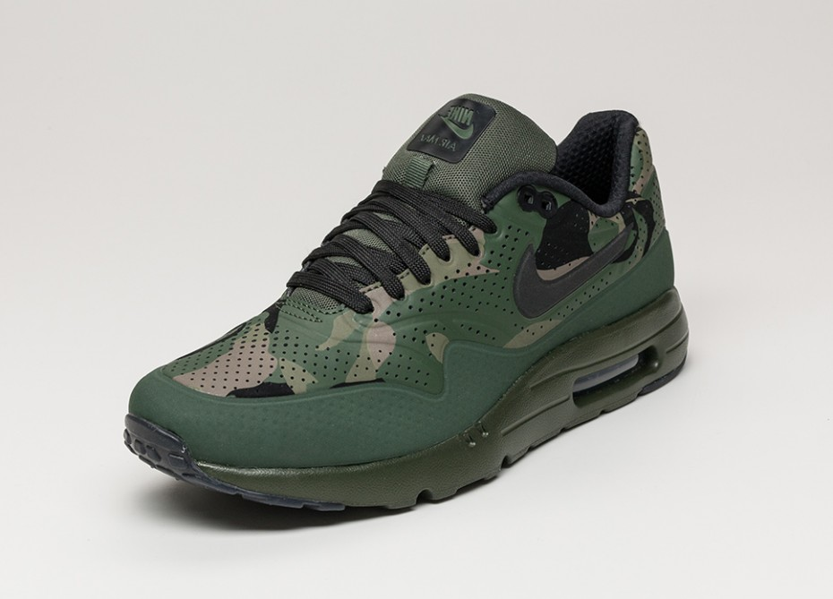 Nike Air Max 1 Ultra Moire Camo Green SNEAKERS ADDICT