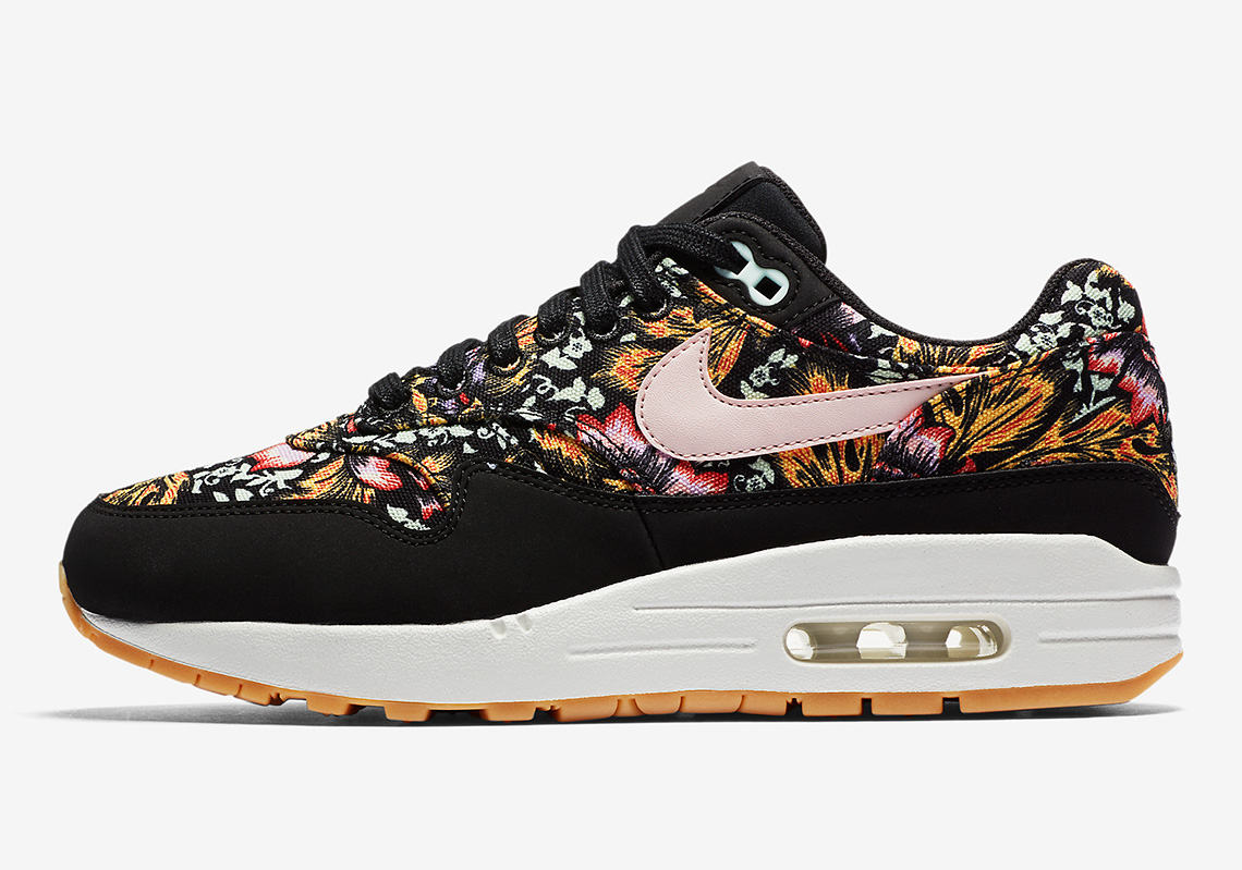 Qs Max DateWave® 1 Air PrintRelease Nike Floral Womens JcFK13Tl