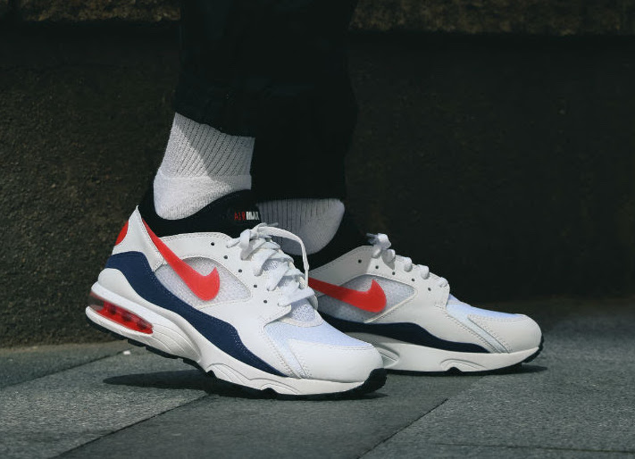 Nike Air Max 93 OG Flame Red : on feet   WAVE®