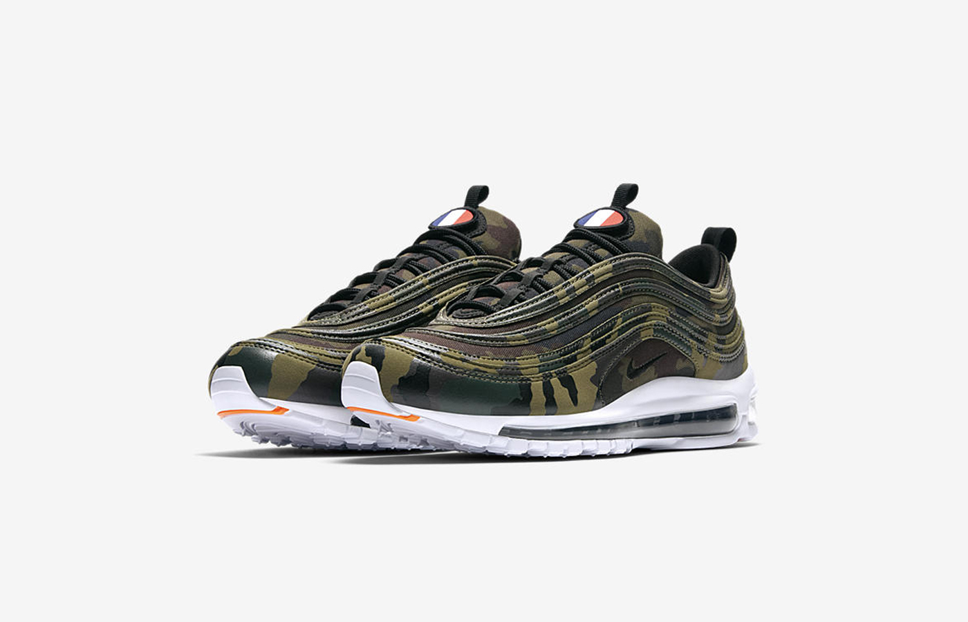 nike air max 97 french camo release date sneakers addict. Black Bedroom Furniture Sets. Home Design Ideas