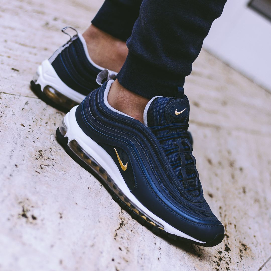 2c6f3f35cf6153 Nike Air Max 97 PRM Midnight Navy   Release Reminder .