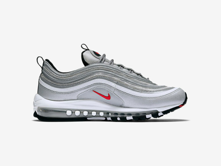 nike air max 97 silver bullet release date sneakers addict. Black Bedroom Furniture Sets. Home Design Ideas