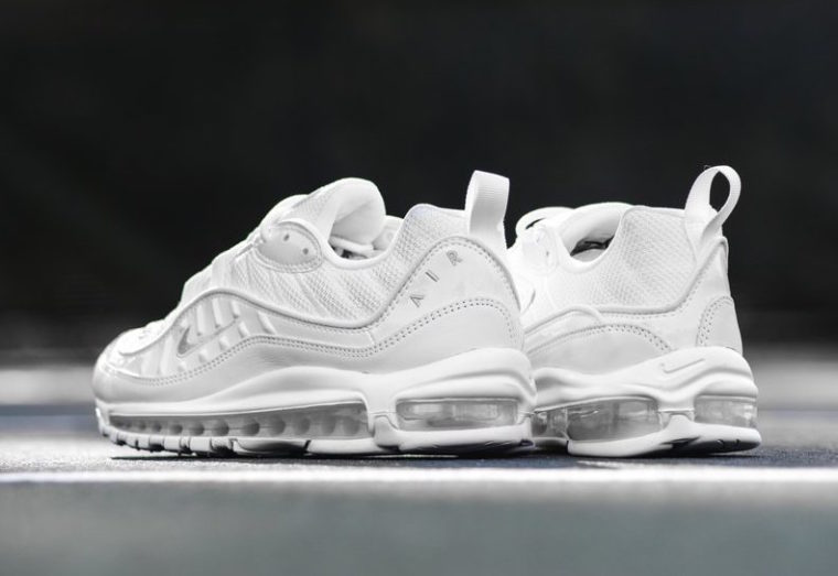 Nike Air Max 98 Triple White release date