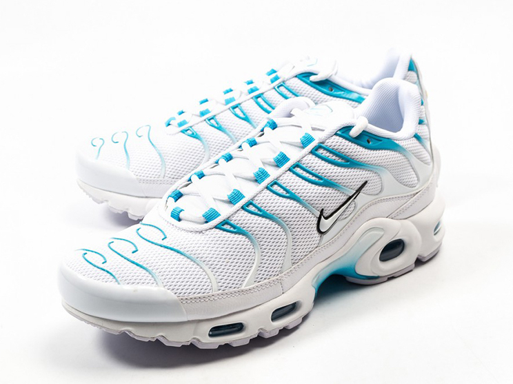 852630 105 Nike Air Max Plus TN 1 WhiteWhite Lt Blue Fury