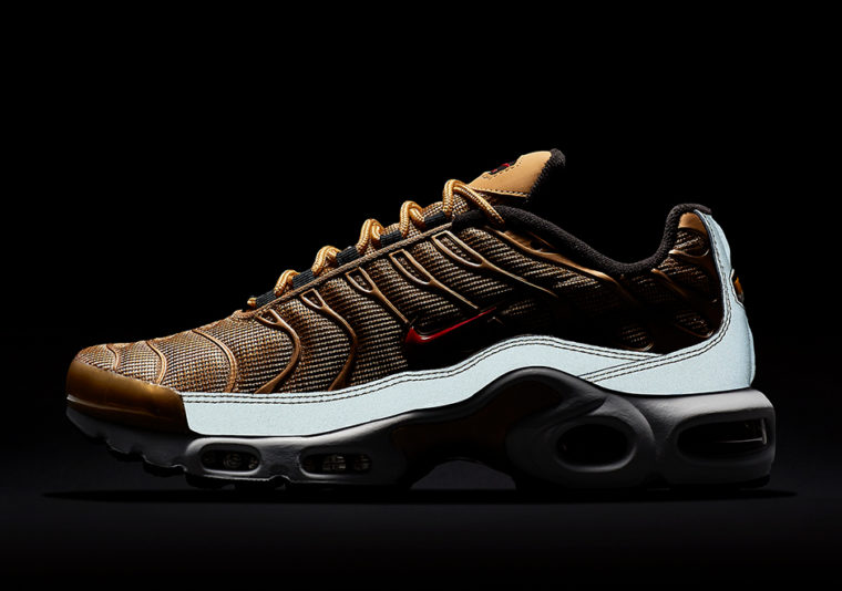 nike air max plus metallic