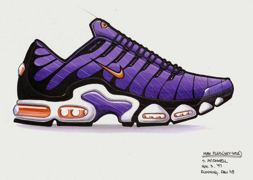 Nike Air Max Plus original sketche