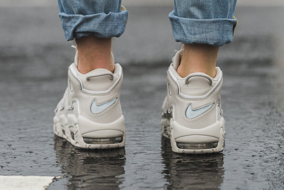 60d0a03692 ... More Uptempo 96 Light Bone. Nike Air ...