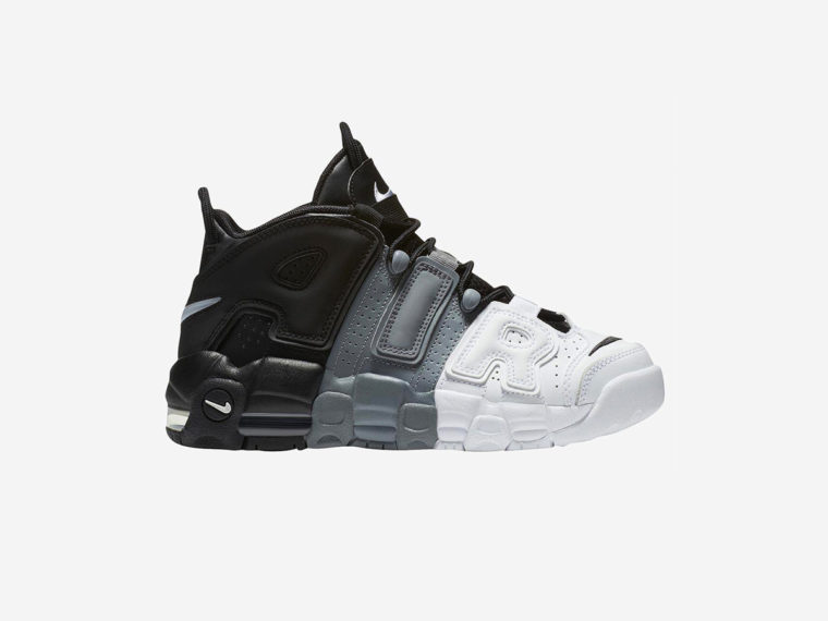 Nike Air More Uptempo Black Grey White