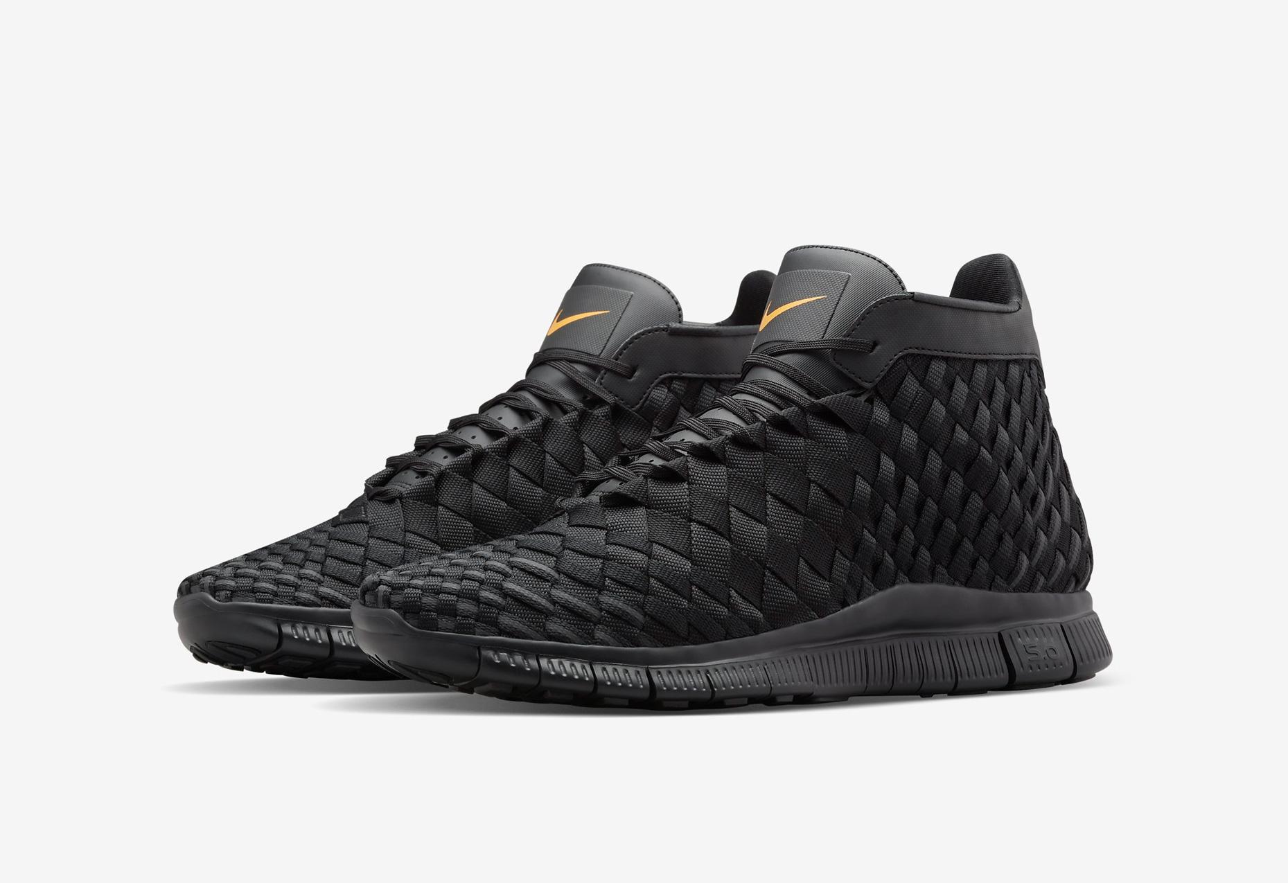 Mens Nike Free Inneva Woven Running Shoes