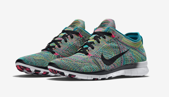 Nike Free TR 5 Flyknit 'Multicolor' – Available