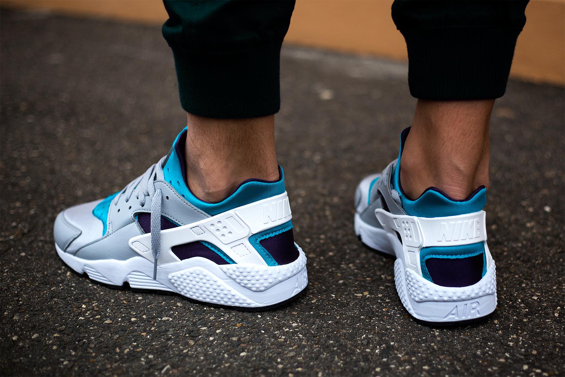 Nike Air Huarache Quot Aquatone Quot Sneakers Addict