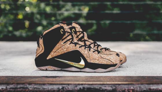 "Nike LeBron 12 EXT ""Cork"""