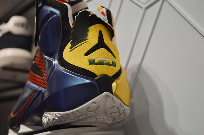 """Nike LeBron 12 """"What The"""" - Premières images"""