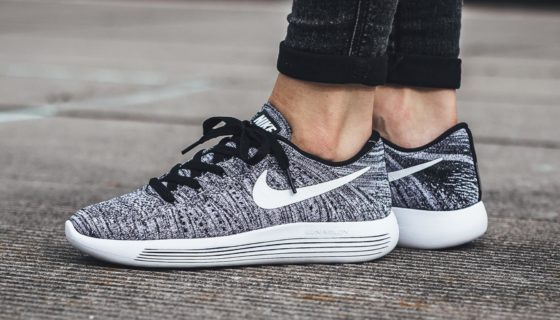 Nike LunarEpic Low Flyknit Black White
