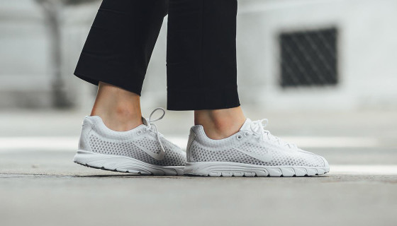Nike Mayfly Premium Triple White