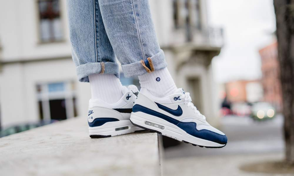 Nike WMNS Air Max 1 White Blue release date
