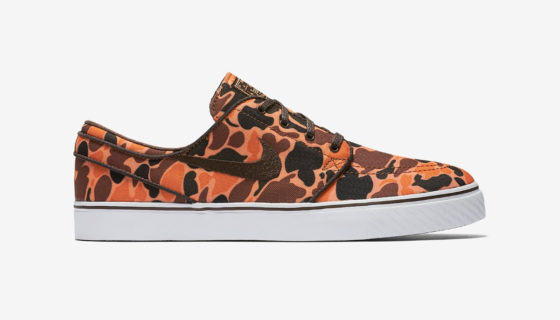 Nike SB Zoom Stefan Janoski Orange Camo
