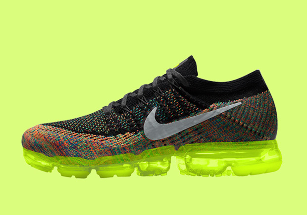 NIKEiD Air VaporMax \u0026 Air Max 1 Flyknit Multicolor | WAVE®
