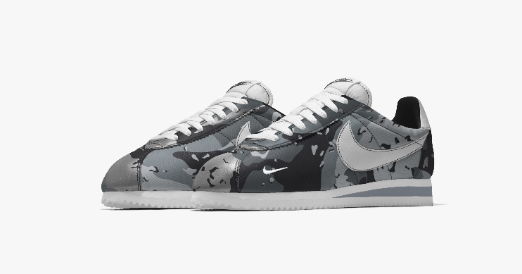 nikeid reflective camo internationalist