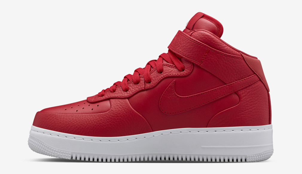 "NikeLab Air Force 1 Mid ""Gym Red"""