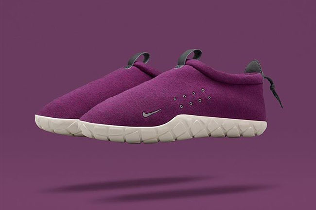 NikeLab Air Moc Tech Fleece Mulberry
