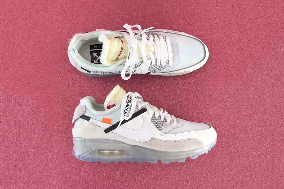 Off White x Nike Air Max 90 : Preview | WAVE®