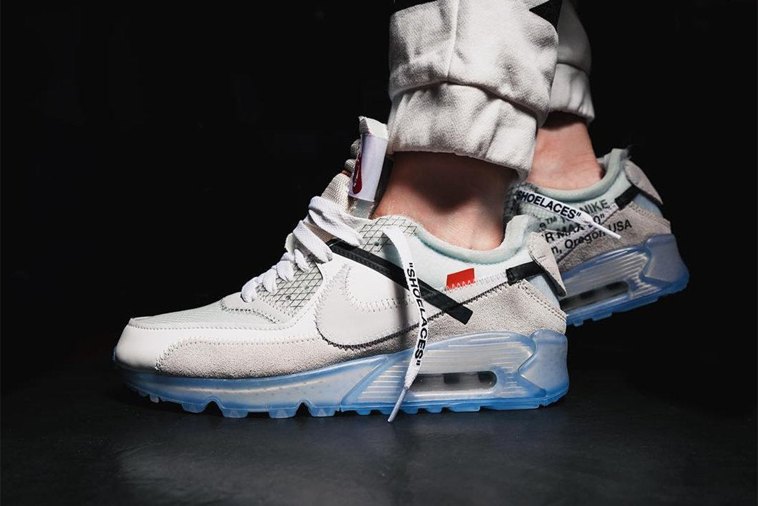 off white x nike air max 90 preview sneakers addict. Black Bedroom Furniture Sets. Home Design Ideas