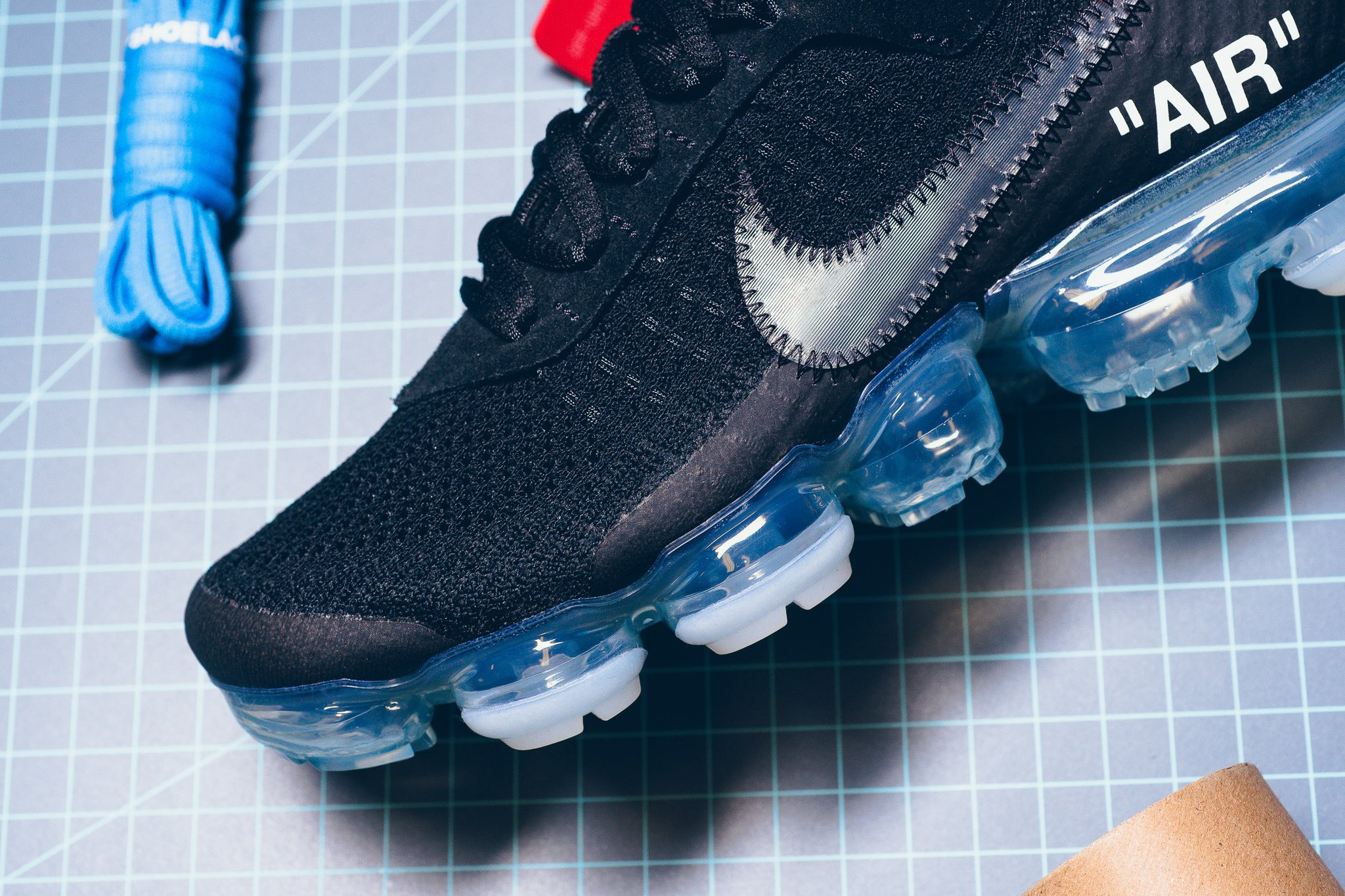 Off White x Nike Air Vapormax Black